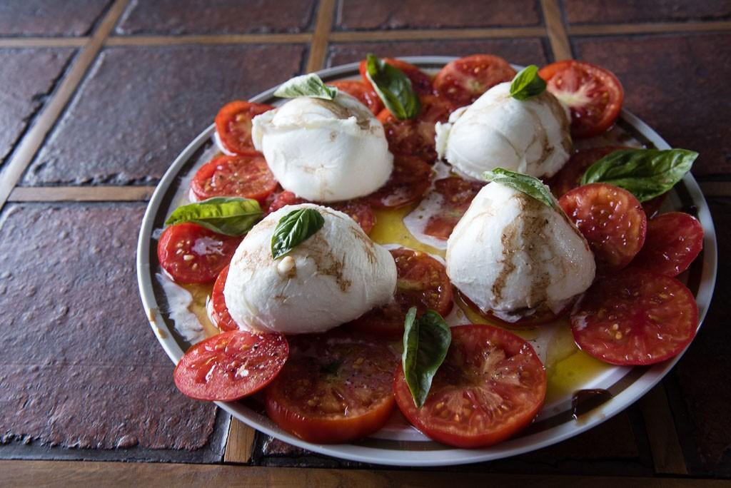 Tomates et mozarelle